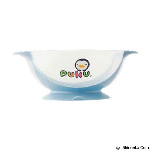 PUKU Non-Slide Baby Bowl [P14311-B] - Blue - Perlengkapan Makan dan Minum Bayi